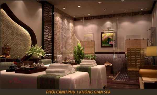 thiet ke noi that, noi that dep, noi that spa, thiet ke spa, noi that hien dai